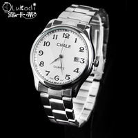 Quartz male watches waterproof strip commercial classic strip fashion Men watch
