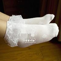 Free shipping  Mesh Short Princess Socks Thin Sock Ultra-thin Child Lace Decoration Socks,Child Socks For Girls