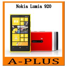 Original Nokia Lumia 920 Dual Core 1 GB RAM 32 GB 8MP Camera 4.5inch Touch Screen Microsoft Windows 8 Smart Phone
