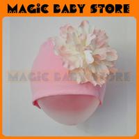 retail girl  hat with big flower Cap Flower Hat Baby/ baby wear