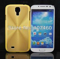Gradient Color Fashion Disc CD Texture Metal Paste Skin Plastic Case for Samsung Galaxy S IV / i9500 50pcs/lot