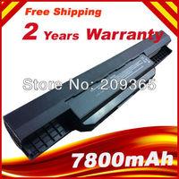 7800mAh 9 Cells Battery for Asus A32-K53 A42-K53 K53B K53E K53F K53J K53S K53S/E K53U+Free shipping