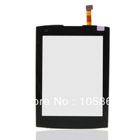 New Replacement Black Touch screen Digitizer Glass fit for Nokia X3 X3-02 sunny B0107