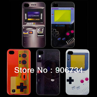 5PCS Free Shipping Novel Plastic Back Case Cover For iPhone 4G 4S