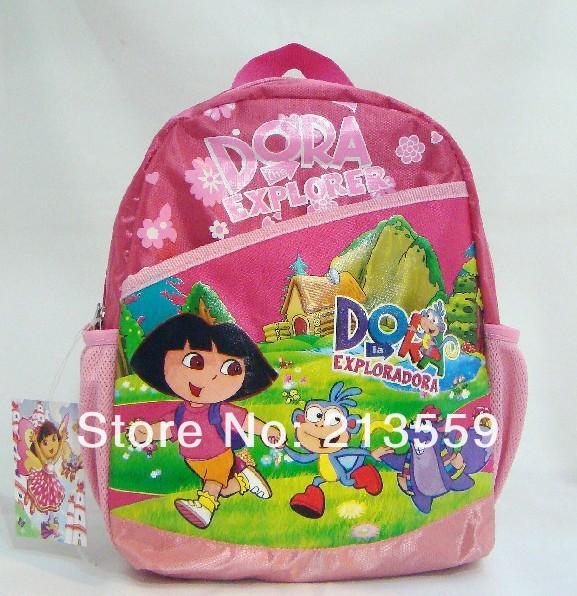 Frete grátis EMS 20 / Lot Dora a Mochila Pré Escola Explorador Dora # 8819(China (Mainland))