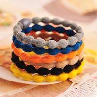 Free Shipping big hair accessory nelumbonucifera headband basic headband brief candy color hair rope 100pcs/lot