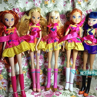 Free shipping  new products for 2013 dolls for girls winx club 30cm Tall anime figure child's birthday gift items