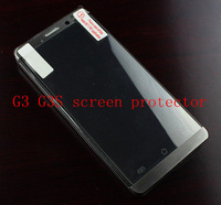 5pcs/lot JIAYU G3 G3S Transparent Screen Protector Screen Film HD screen, with Retail Package, Free Shipping