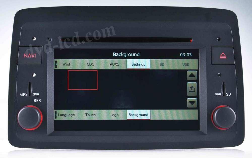 Car DVD GPS Navigation radio head units for Fiat Idea Lancia Musa TV BT Ipod A2DP HDD(China (Mainland))