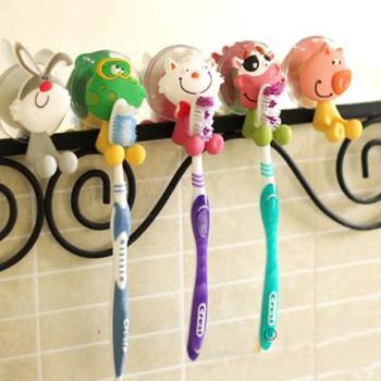 Creative toothbrush holder suction cup toothbrush box toothbrush set dental frame animal toothbrush hanging toothbrush head rack