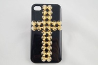 free shipping 3D Metal spikes case for iphone5 hard case for 5g wholesale supply 10pcs/lot