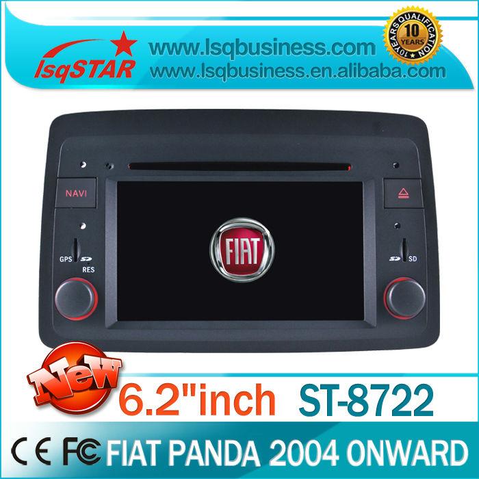 LSQ Star (2004-2012) car audio dvd gps player Fiat Panda with GPS,BT,Radio RDS,DVD,IPOD,2year warranty,Free shipping!(China (Mainland))