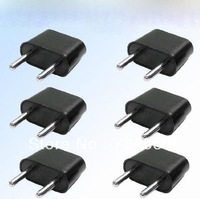 American to European Outlet Plug Adapter - 6 Pack