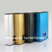 Free Shipping Power Bank Dual USB 22000mah External Battery Portable Battery Charger Power Pack Source for iPad, iPhone 5