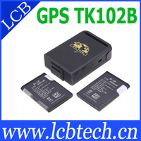 Mini TK102B GPS Tracker 4 band Memory slot shock sensor full accessories!