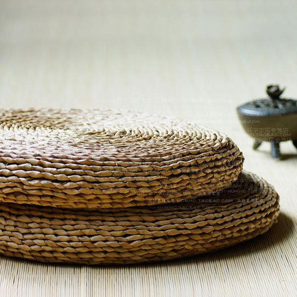 Knit Floor Seat Cushion Meditation Mat Tatami Futon Pillow Free Bed Mattres...