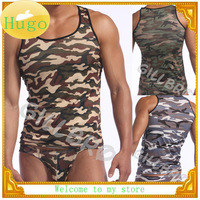 (N-355)Very Cool Camouflage Household/Sport Men's Tank Tops Men's Vest Free shipping!!