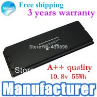 """Laptop Battery For Apple MacBook 13"""" A1185, A1181, MA561, MA254LL/A MA566,  MA566J/A  Black"""