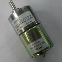 Free Shipping 12V DC 40 RPM High Torque Gear Box Motor Permanent Magnet NEW ZGB37RG