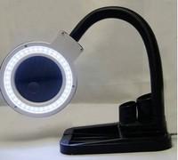 5X-10X Desktop Magnifier Desk Lamp 40LED Direction Adjustable Free Rosin Freeshipping