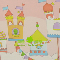 Meijia wallpaper waistline cartoon clouds wallpaper hgds070a