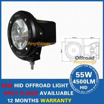 "8 PCS 4 inch 9-32V 55W 4"" Sport Beam Truck Boat fog lamp 75W Hid driving light HID off road light Hid xenon Work Light"