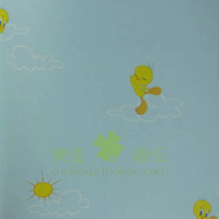 wallpaper mural wallpaper roll Meijia wallpaper pure paper, blue sky wallpaper hghl094