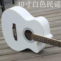 Musical instrument acoustic guitar white girls 40 pink wood guitar bakelite guitar