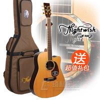 Nightwish monoboard folk guitar wood guitar n-900d spree