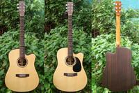 Guns rose 41 full-board folk wood guitar electric box belt box