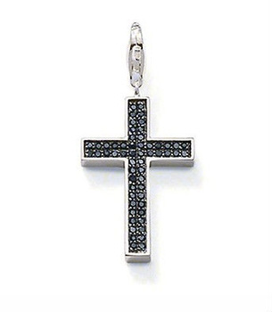 New! Wholesale Free shipping 925 silver beautiful cross pendant  fit  925 necklace  TS 486