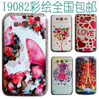 For samsung   i9082 mobile phone i9080 mobile phone protective case protective case colored drawing cartoon everta