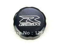 Black Front Brake Fluid Reservoir Cap For Suzuki GSXR 600 750 1992-2011 GSXR 1000 2001-2012 Free Shipping