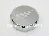 Free Shipping CHROME FRONT BRAKE FLUID CAP For 2007-2012 Honda CBR 600RR 600RR