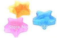 500packs/lot Clean Soft Soap Sweet Portable Star Shape Perfumed Tissue Soap Washing petal Leaf Flakes Hand Wash Gift Free Ship