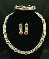 New arrive EEL18 k wedding jewelry set is unique design your correct choice free shipping