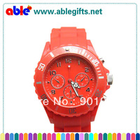 Fashion Ceramic White Silicone Watch Women