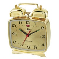 Alarm clock mechanical clockwork manual mechanical alarm clock full metal mechanical clock vintage mechanical alarm clock