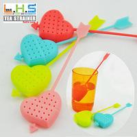 Freeshipping Heart shape teaspoon, tea strainers, tea device,tea infusers 4 colors available 30pcs/lot