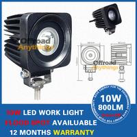 2 Pcs 10W Cree LED Work Light Fog driving Lamp Truck Tractor Mining Off Road ATV Spot beam worklight led Cree LED