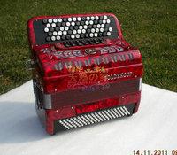 Achevement jh5120 70 key 120 bass dulcime 120bs button accordion b