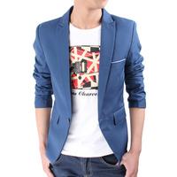 Fashion Autumn and Spring Solid Color Top Quality Men's blazer,casual suit men's coat, large size