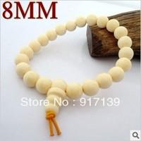 8MM*23pcs High imitation Elephant bone beads Wholesale High imitation ivory bead bracelets BoutiqueIvory jewelry