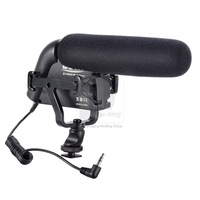 New Shotgun Microphone with Foam Cover for Camcorders DSLR Cameras A 017420 Free Shipping