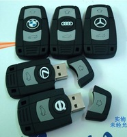 Famous car key style USB FLASH DRIVE, capacity 2GB,4GB 8GB 16GB 32GB  free shipping,10PCS/LOT