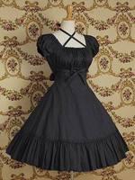 Summer women's lolita princess lolita dress uniform 100% cotton short-sleeve dress wholesale costume