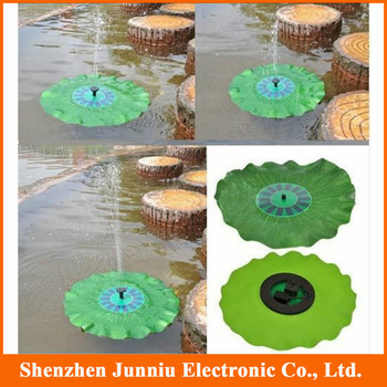 New 8V 1.4W Portable Solar Power Decorative Fountain Pond Pool Brushless Water Pump Free Shipping
