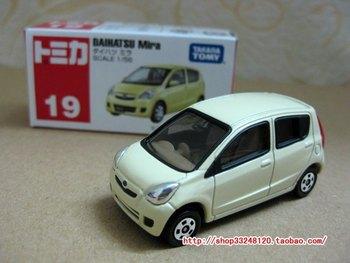 Original japan alloy car tomica tomy 19 daihatsu mira