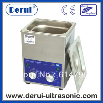 Derui ultrasonic tank cleaning with timer and heated DR-MH13 1.3L