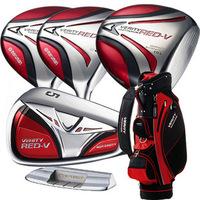 Limited edition 3 set golf maruman verityred-v male extension golf ball rod